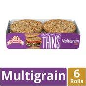 Brownberry Multigrain Sandwich Thins