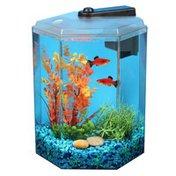 Imagitarium 1.7-Gallon Hexagonal Freshwater Aquarium