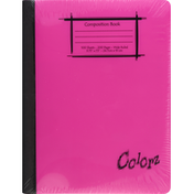 Norcom Composition Book, Wide Ruled, 100 Sheets