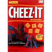 Cheez-It Baked Snack Crackers, The Amazing Spider-Man