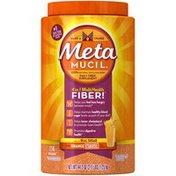 Metamucil Multi-Health Psyllium Powder with Real Sugar, Orange Flavored Metamucil Multi-Health Psyllium Fiber Supplement Powder with Real Sugar, Orange