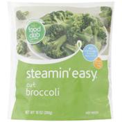 Food Club Steamin' Easy, Cut Broccoli