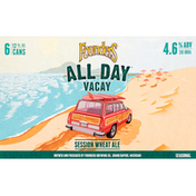 Founders All Day Vacay Seasonal Session Wheat Ale