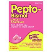 Pepto-Bismol Pepto Bismol Caplets For Nausea, Heartburn, Indigestion, Upset