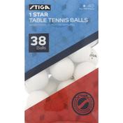Stiga Balls, Table Tennis, 1 Star