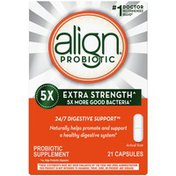 Align Extra Strength Probiotic Supplement For Men And Women