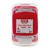 Pyrex Easy Grab Value-Plus Pack - 4 CT