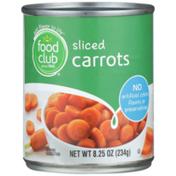 Food Club Sliced Carrots
