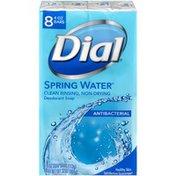 Dial Antibacterial Bar Soap, Spring Water