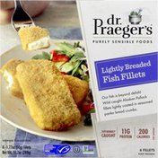 Dr. Praeger's Fish Fillets, Lightly Breaded