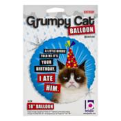 Betallic Grump Cat Balloon