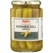 Hy-Vee Kosher Dill Spears