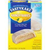 Tastykake Kandy Kakes Spring Lemon Tastykake Kandy Kakes Spring Lemon Cakes
