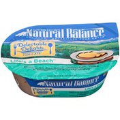 Natural Balance Delectable Delights Life's A Beach Pâté with Sardines Whitefish Tuna & Mackeral in a Tasty Gravy Cat Food