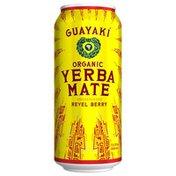 Guayaki Yerba Mate Organic Revel Berry Beverage