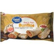 Great Value Beef & Bean Burritos