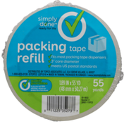 Simply Done Packing Tape Refill