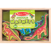 Melissa & Doug Dinosaur Magnets, Wooden, Ages 2+