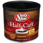 Shurfine Medium Roast Half-caff Coffee