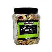 Kirkland Signature Unsalted Fancy Mixed Nuts, 40 oz