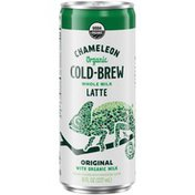 Chameleon Organic Whole Milk Latte Cold Brew Coffee