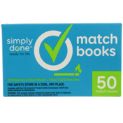 Simply Done Match Books