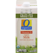 O Organics Milk, Organic, Grass-Fed