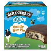 Ben & Jerry's Pint Slices Candy Bar Pie