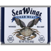 Sea Wings Crab Meat, Special, Can