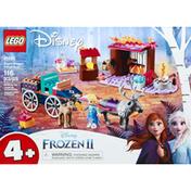 LEGO Building Toy, Elsa's Wagon Adventure, 4+
