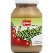 Lieber's Applesauce, Unsweetened