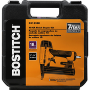 Bostitch Finish Stapler Kit, 18 GA