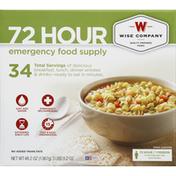 Wise Emergency Food Supply, 72 Hour