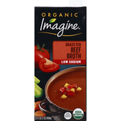 Imagine Beef Broth, Organic, Grass Fed, Low Sodium