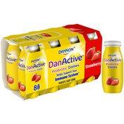 DanActive Probiotic Dailies Strawberry Dairy Drink