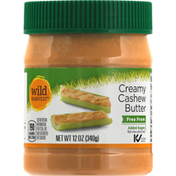 Wild Harvest Cashew Butter, Creamy