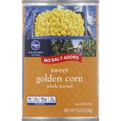 Kroger Golden Corn, Sweet, Whole Kernel, No Salt Added