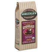 Arbuckles Coffee, Organic, Ground, Chocolate Raspberry Flavored