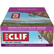 CLIF BAR Chocolate Chip Peanut Crunch Energy Bar (Case)