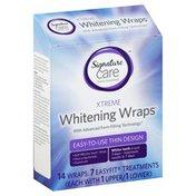 Signature Home Xtreme Whitening Wraps