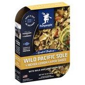 Fishpeople Wild Pacific Sole, in Meyer Lemon Caper Sauce