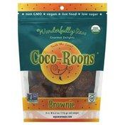 Sejoyia Organic, Coco-Roons, Brownie, Gourmet Delights, 8ct, Bag