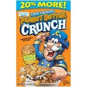 Cap'N Crunch Peanut Butter Crunch Cereal   Paper Box