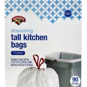 Hannaford Tall Kitchen Drawstring Bags