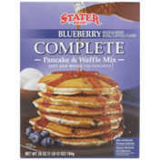 Stater Bros Blueberry Complete Pancake & Waffle Mix
