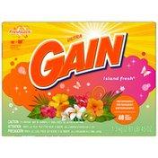 Gain with FreshLock Island Fresh Powder Detergent