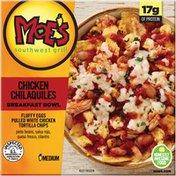 Kellogg's Moe's Southwest Grill Chicken Chilaquiles Medium Breakfast Bowl