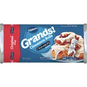 Pillsbury Grands! Cinnamon Rolls with Cinnabon Original Icing Canned, 5 Count