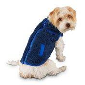 Good2 Go Small Black Orange Reversible Fleece Pet Jacket