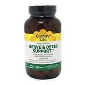 Country Life Nerve & Osteo Support Tablets